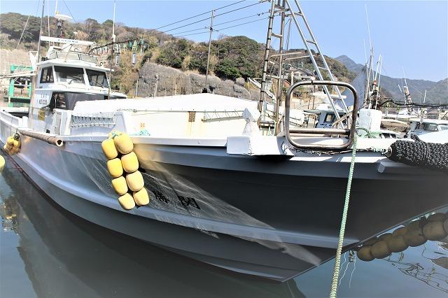 関勝丸 船体1
